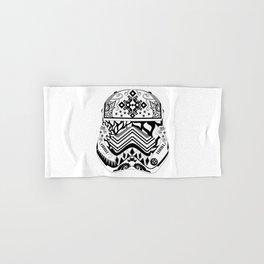 Floral Stormtrooper Hand & Bath Towel