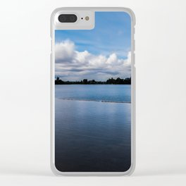 One dredging lake in Germany Clear iPhone Case