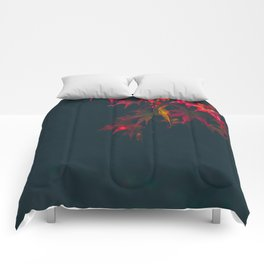 Sensual Red Japanese Maple Comforters