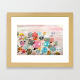 On With Life Framed Art Print