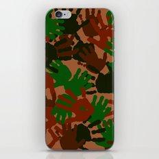 Evidence v1: Camo iPhone & iPod Skin