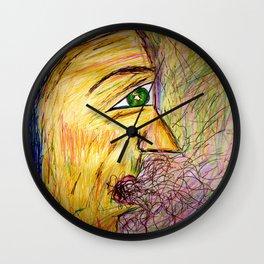 A Hawk in The Jar. Wall Clock