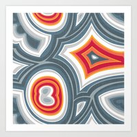 agate Art Prints featuring Agate by Alex Morgan