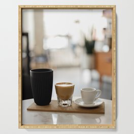 Morning Coffee Serving Tray