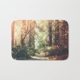 Beautiful California Redwoods Bath Mat