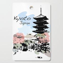 Kyoto Temple Japan Cutting Board