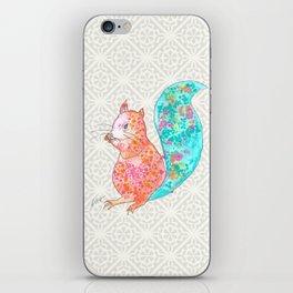 Nom Nom Squirrel iPhone Skin