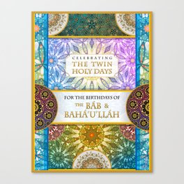 The Twin Holy Days Canvas Print