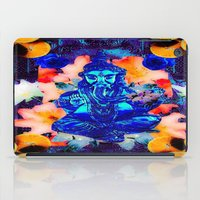 ganesh iPad Cases featuring ganesh by Candice Steele Collage and Design