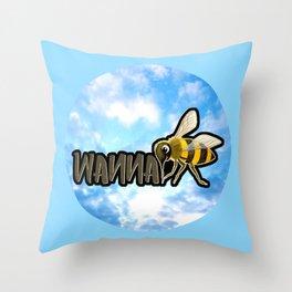 WANNA BEE Throw Pillow