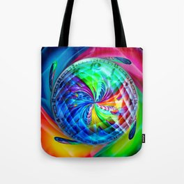 Abstract in perfection - Time s running Tote Bag