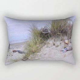 Waldport Oregon - Sand Time Rectangular Pillow