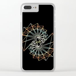 UNIVERSE 42 Clear iPhone Case