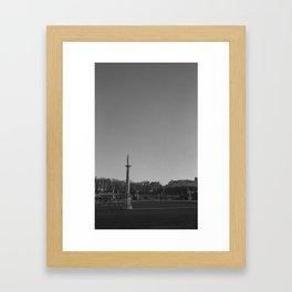 Paris Autumn, Les Jardins du Luxembourg Framed Art Print