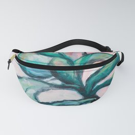 Painterly Plant Fanny Pack