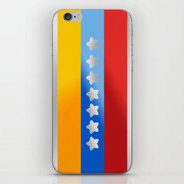 Venezuelan Flag V iPhone Skin