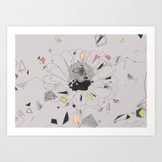 party flower Art Print