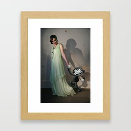 A Night at the Pictures Framed Art Print