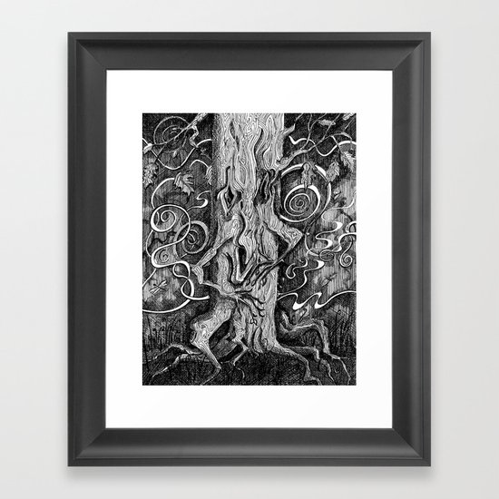Tree Hugger Framed Art Print