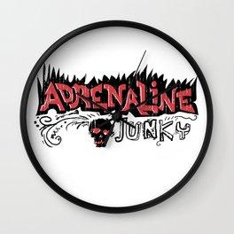 Adrenaline Junky Wall Clock