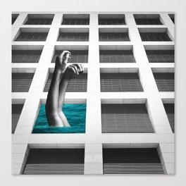 Summer, A Retrospective Canvas Print