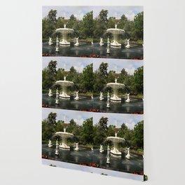 Forsyth Fountain in Forsyth Park Wallpaper