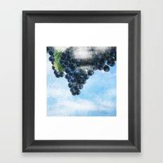 Grapes' Heaven Framed Art Print
