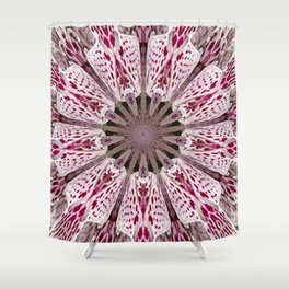 Flower from the Future? Shower Curtain