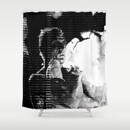 Like tears in rain... - PRIS version Shower Curtain