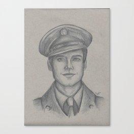 Sgt. James Barnes Canvas Print