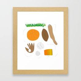 Sports Nut (Jaidyn) Framed Art Print