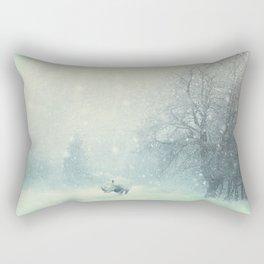 Different dont mean weak Rectangular Pillow