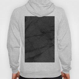 Dark Grey Matte Black Marble Hoody
