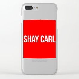 Shay Carl Clear iPhone Case