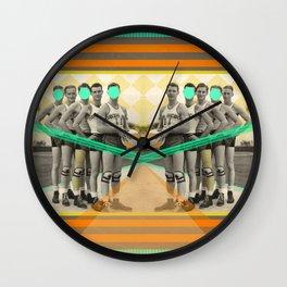 Eight years of basketball Wall Clock