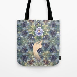 flower sermon of the Buddha Tote Bag