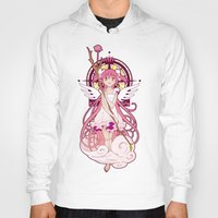 madoka magica Hoodies featuring Madoka Kaname - Nouveau edit. by Yue Graphic Design