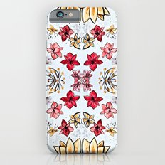 red and yellow flowers Slim Case iPhone 6s