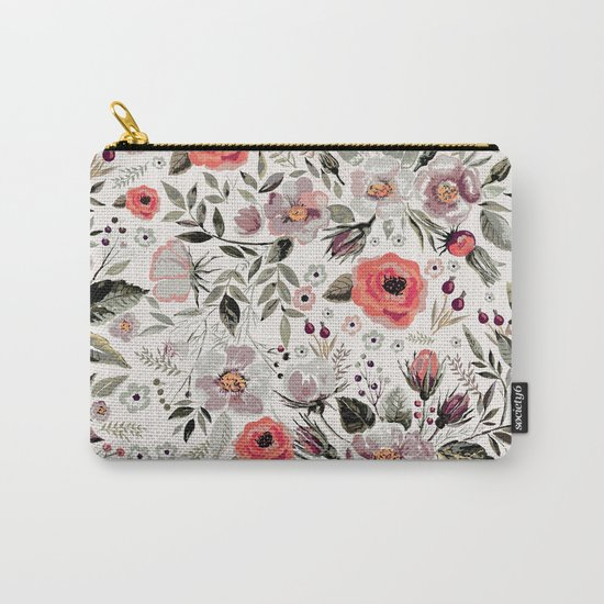 VS FLORAL Carry-All Pouch