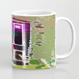 Tardis On The Move Coffee Mug