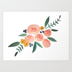 prissy Art Print