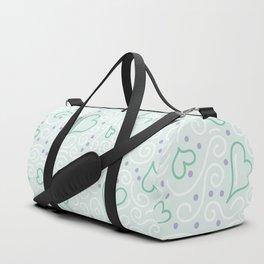 Whimsical Hearts Duffle Bag