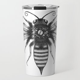Quartz Queen Bee Travel Mug