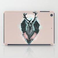 wind iPad Cases featuring Wind:::Deer by Süyümbike Güvenç