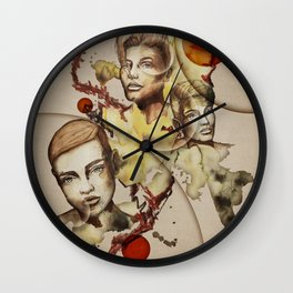 Focus by carographic Wall Clock