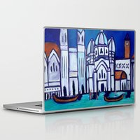 venice Laptop & iPad Skins featuring Venice by Theresa Giolzetti
