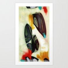 A goldfish named weiland Art Print