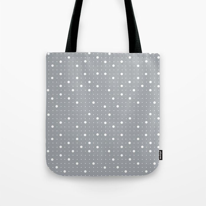 Pin Points Grey Tote Bag