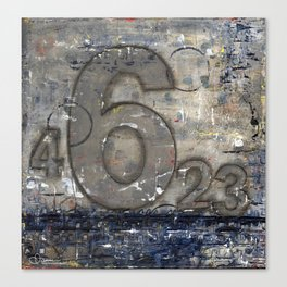 Journey by Number: 6 Canvas Print