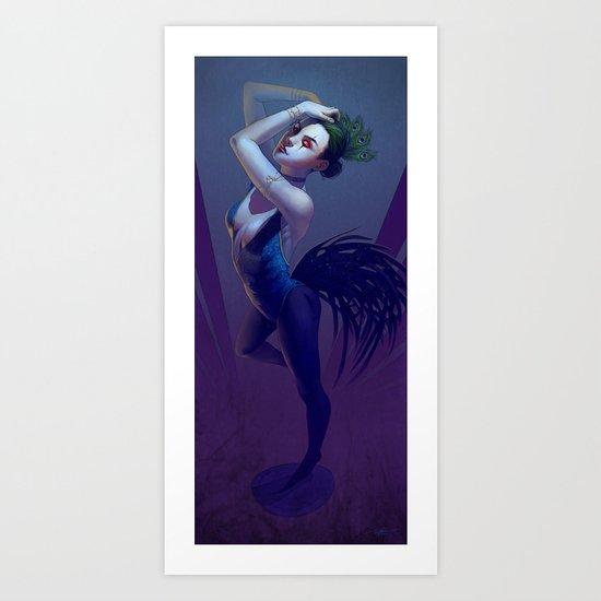Roostercock Art Print